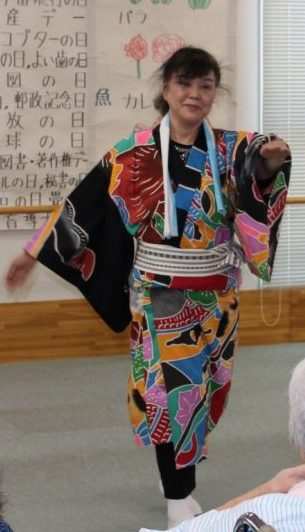 4月19日 JAすみれ(舞踊)来訪