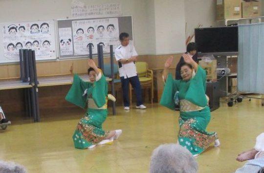 6月21日 舞踊披露(野田舞踊クラブ)